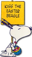 Kiss the Easter Beagle