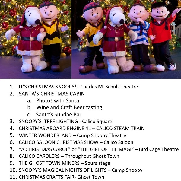 2013 Knotts Holiday Show Guide