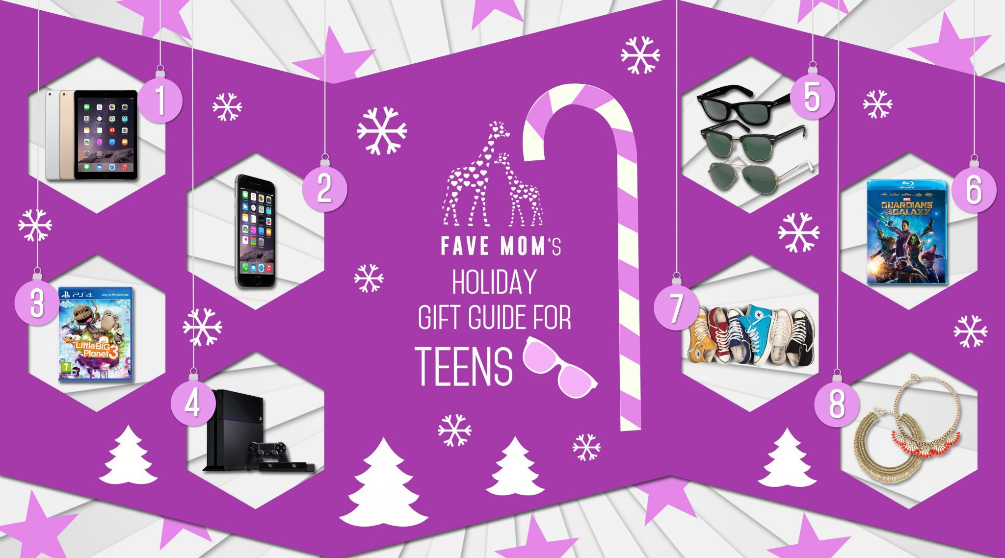 FaVe Mom's Holiday Gift Guide for Teens