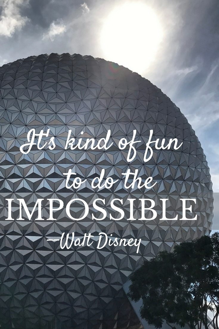 Inspiration from Walt Disney | FaVe Mom
