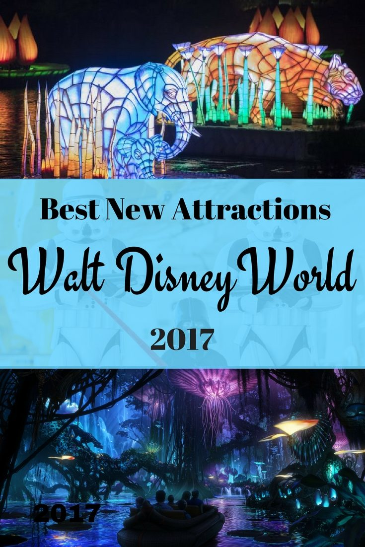 FaVeMom shares the best new attractions at Walt Disney World in 2017 from her insiders look during #DisneySMMC