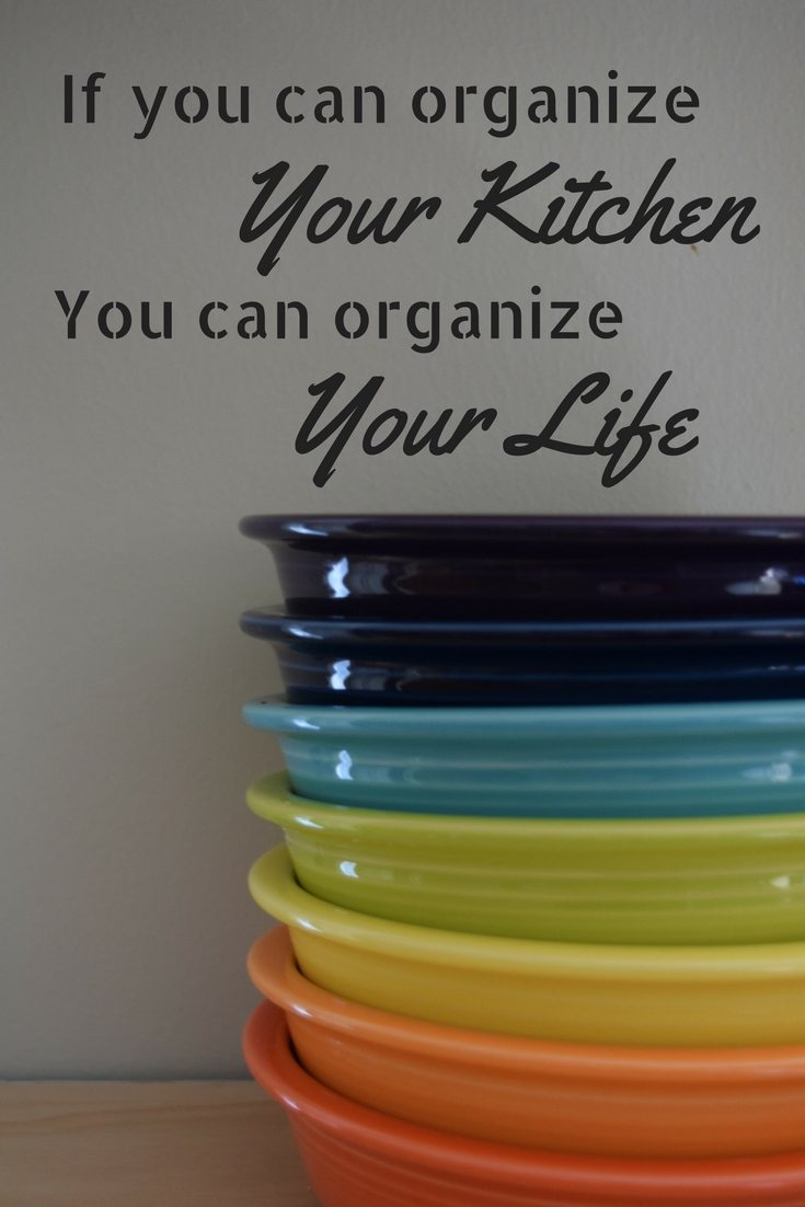 If you can organize your kitchen