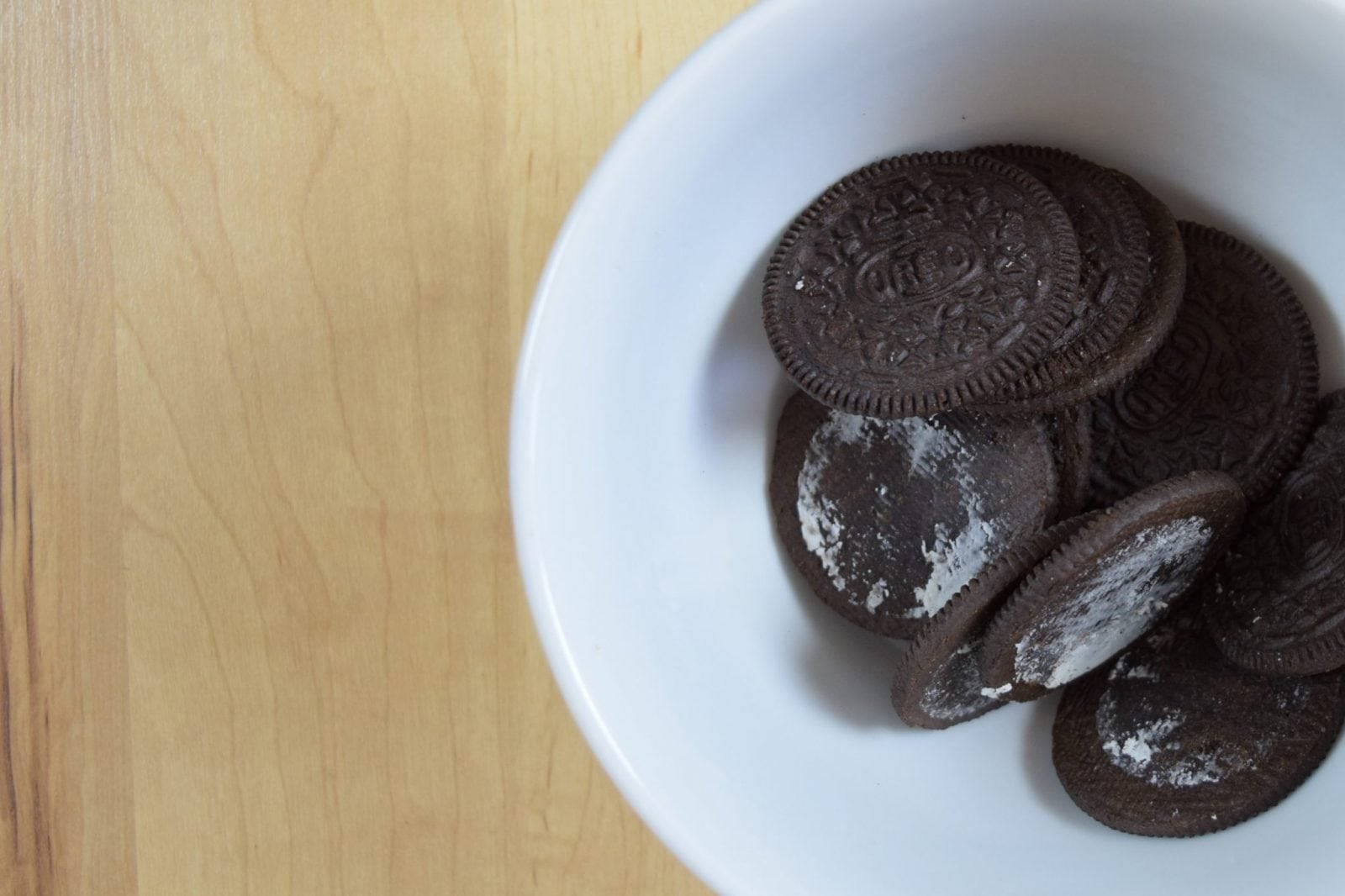 Oreos in grey stuff recipe