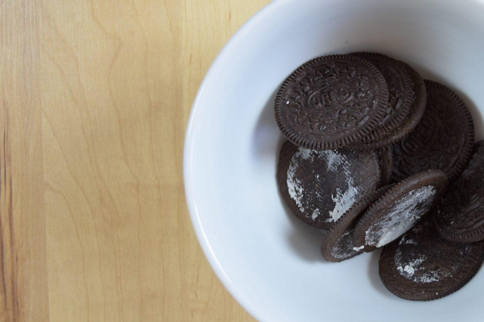 Oreos in grey stuff recipe