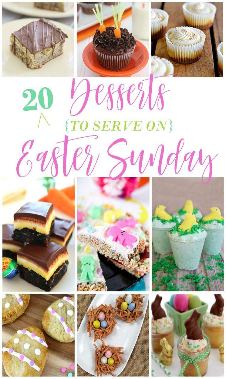 20 Easter Sunday Desserts