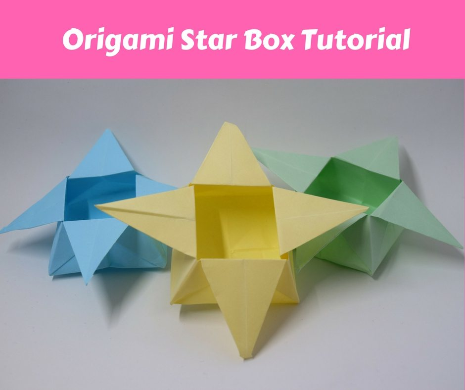 How to make a Paper Star Box for begginers - Origami Star Box ... | 788x940