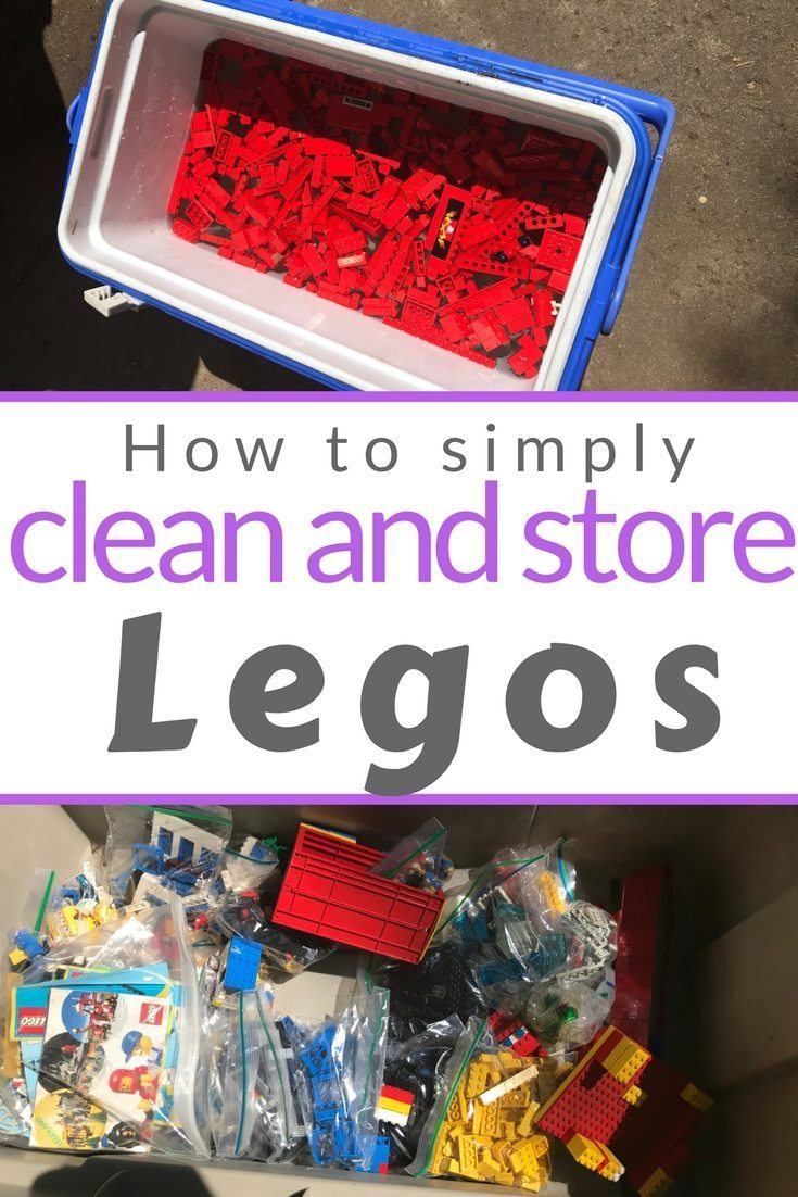 Legos need special effort to clean and store.  HEre's tips to do it quickly and easily