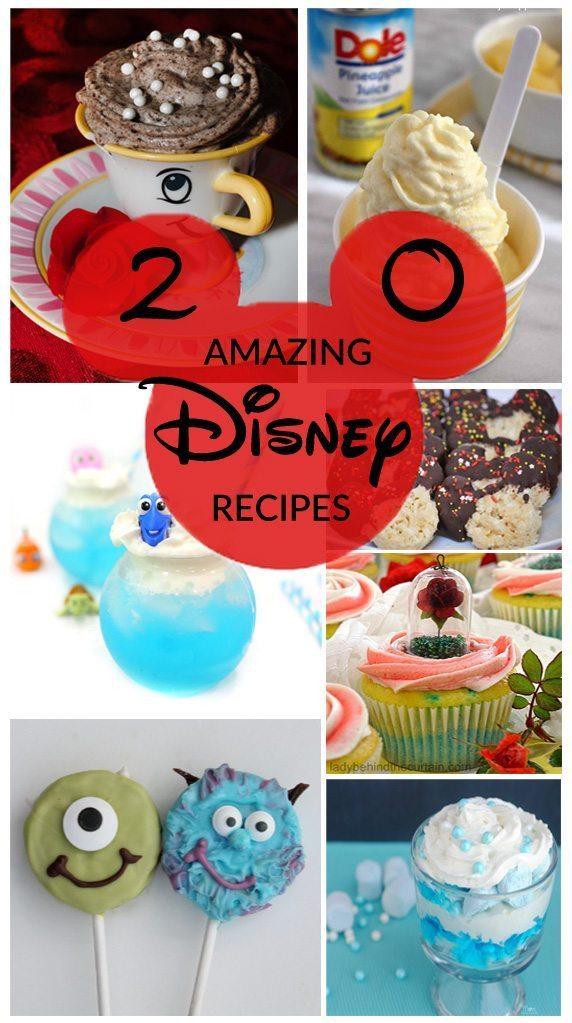 20 Amazing Disney Recipes