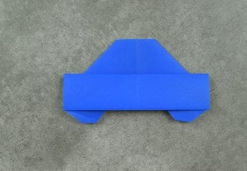 How to fold an Easy Origami Car | FaveMom