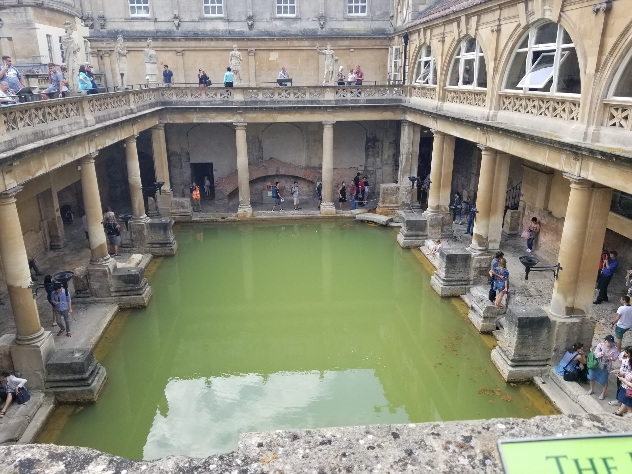 5 Things I Learned at the Roman Baths of England | Favemom.com