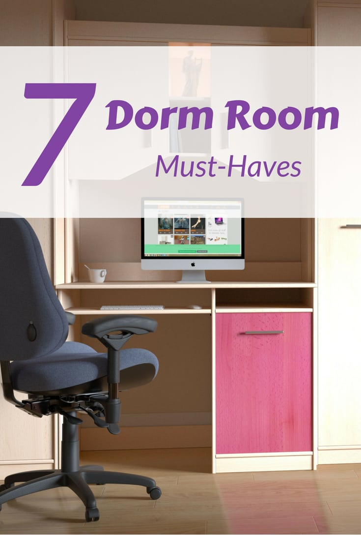 7 items to add to your dorm room shopping list