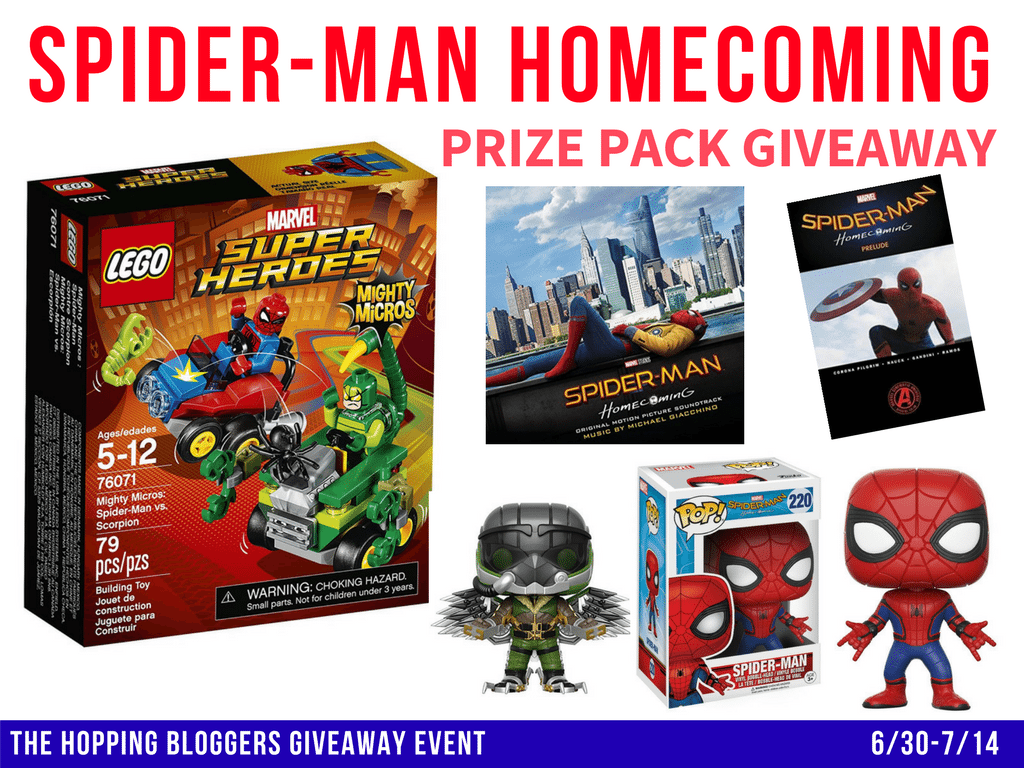Spider-Man Homecoming Giveaway
