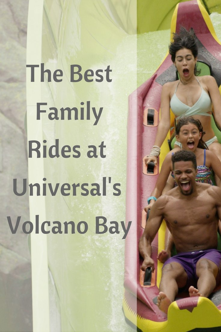 #ReadyforUniversal ? Not yet if you don't know which rides to hit and when at the Volcano Bay water park. This is a list of the best family rides at the park. Don't miss one of these.