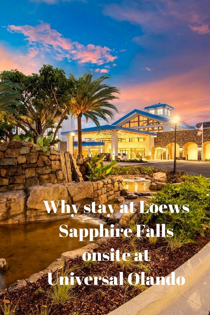 Staying onsite at Universal Oraldno resort is the best way to go.  #LoewsSapphireFalls is #AWonderfulPlace to stay for access to parks and convenience services.  #readyforuniversal #famiyforward