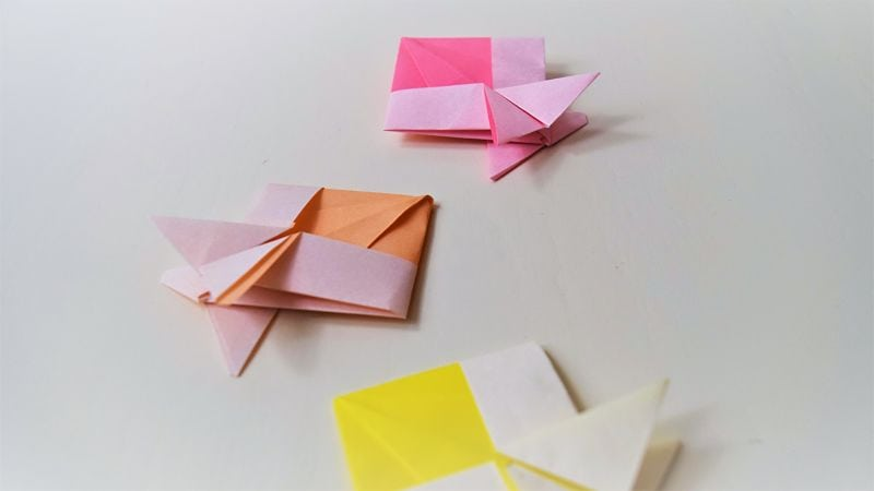 How to fold an origami fish from paper | FAveMom.com