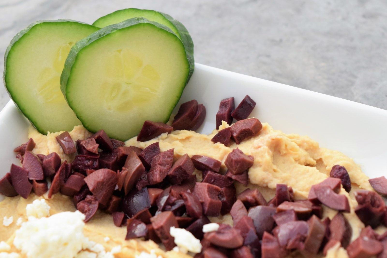 Hummus Plate Appetizer | FaveMom.com