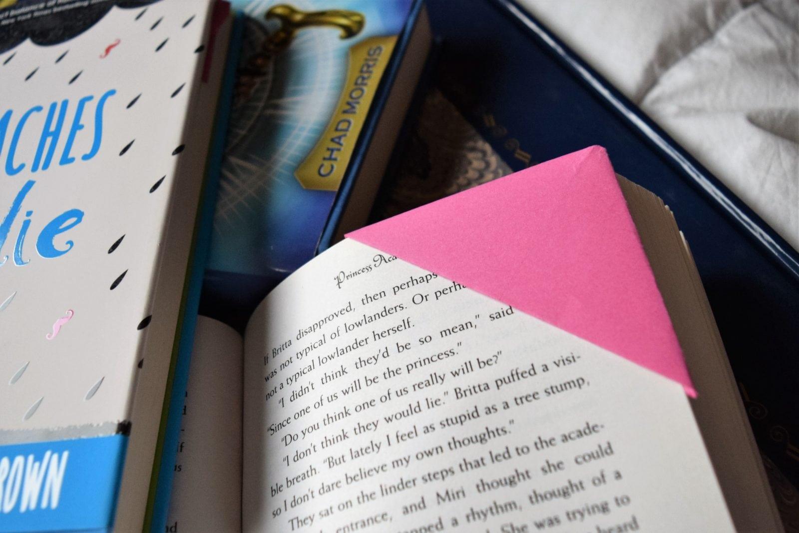 Origami Corner Bookmark FaveMom.com