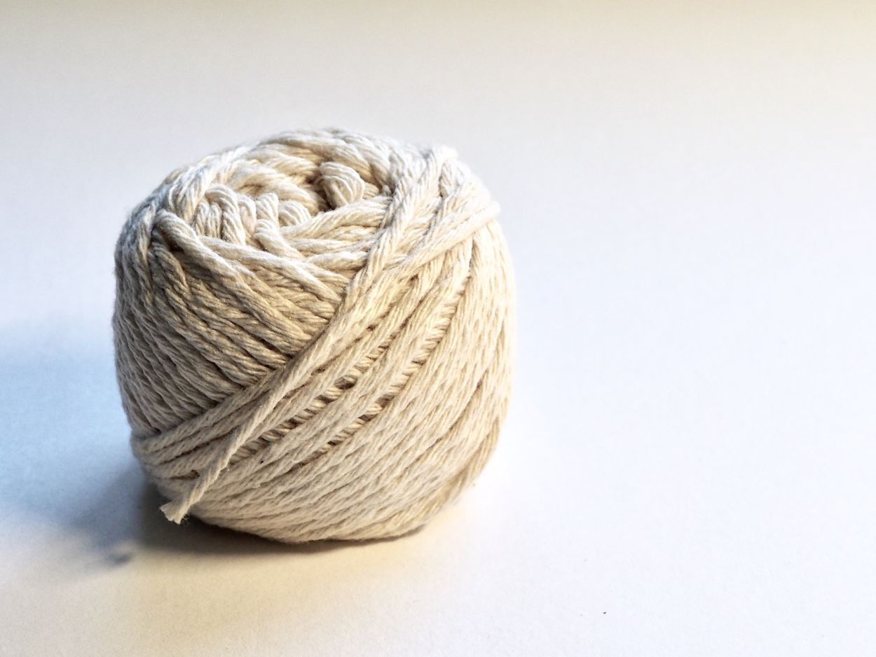 ball of white twine