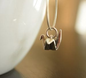 origami jewlery is a great gift for an origami lover | FAvemom.com