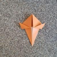 Origami Turkey Folding Instructions - How to Make an Origami Turkey | 200x200