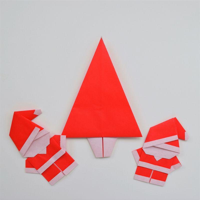 Christmas Origami.Christmas Origami Santa Step By Step Fave Mom