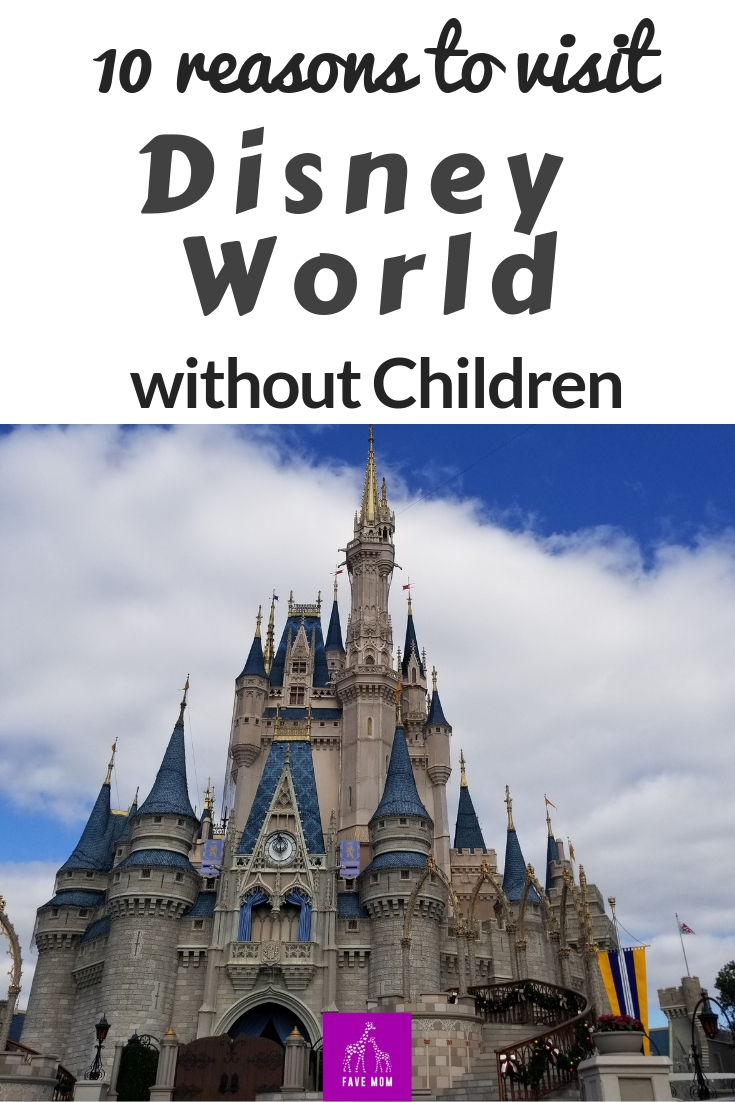 You'll wna to expereince Disney World without your children and here are the best reasons why.  #DisneyWorld #GirlsTripIdeas #favemom