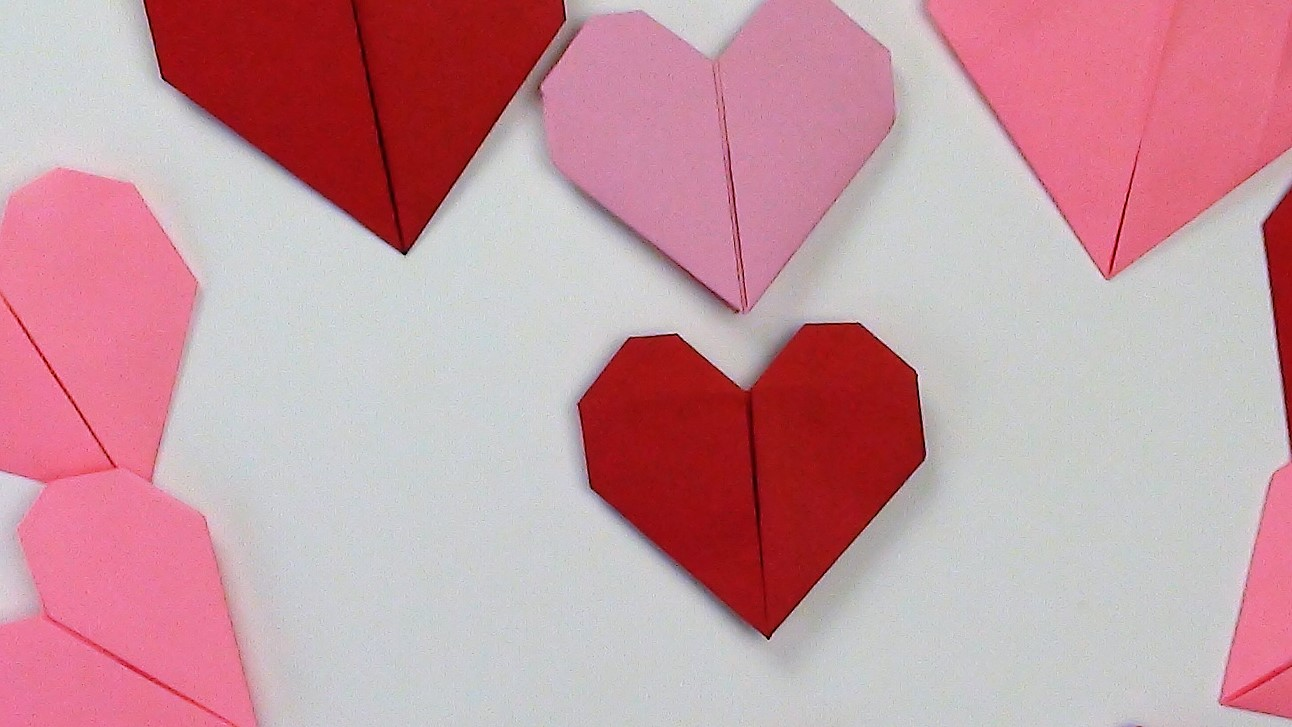 Origami Heart by ~MastaAzumarek :: Heart Images :: Cuorhome.net | 727x1292